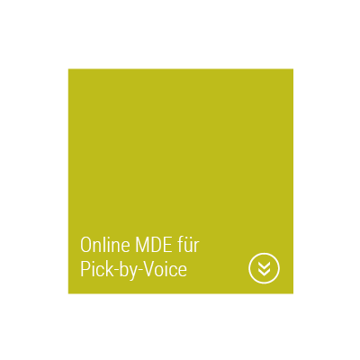 Mobile Datenerfassung mit Pick-by-Voice